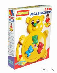 Набор для игры «Медвежонок» (коробка) — фото, картинка