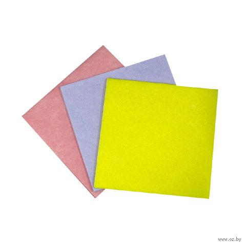 Набор тряпок для уборки текстильных (10 шт.; 380х380 мм)