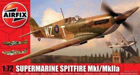 "Истребитель ""Supermarine Spitfire MkI/MkIIa"" (масштаб: 1/72) — фото, картинка"