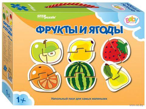 """Пазл напольный """"Фрукты и ягоды"""" (12 элементов)"""