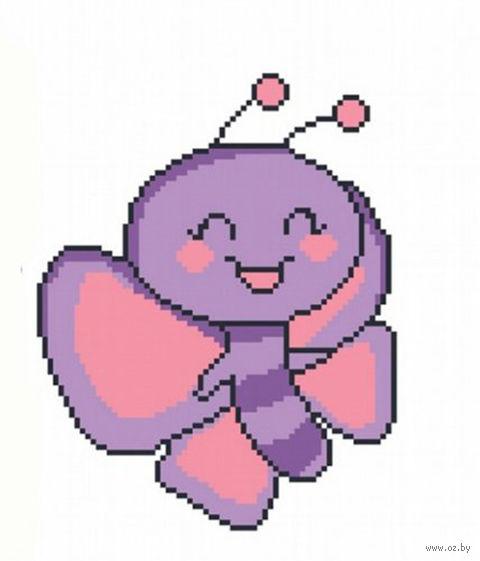 """Вышивка крестом """"Счастливая бабочка"""""""