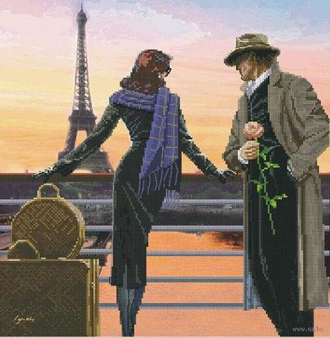"""Вышивка крестом """"Аромат вечернего Парижа"""""""
