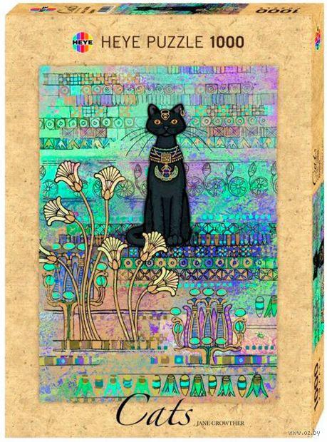 """Пазл """"Египетская кошка"""" (1000 элементов) — фото, картинка"""