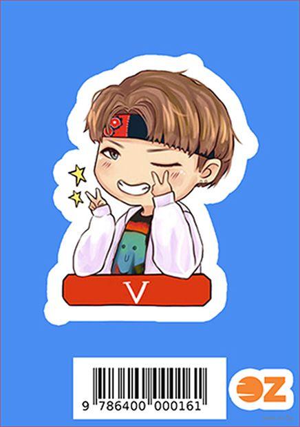 """Наклейка """"BTS. Taehyung"""" (арт. 0016) — фото, картинка"""
