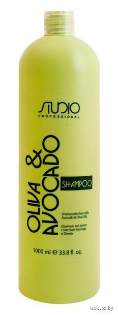 """Шампунь для волос """"С маслами Авокадо и Оливы"""" (1 л) — фото, картинка"""