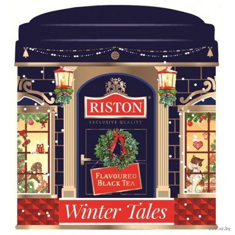 """Чай черный листовой """"Riston. Зимние сказки"""" (50 г; в банке) — фото, картинка"""