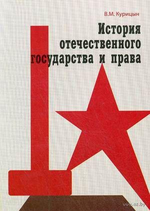 История отечественного государства и права. Всеволод Курицын