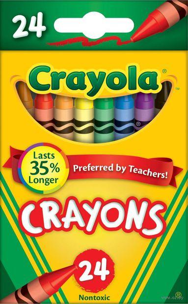 """Мелки восковые """"Crayola"""" (24 цвета)"""