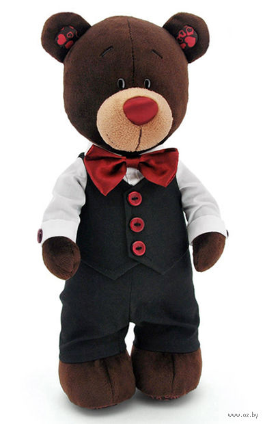 """Мягкая игрушка """"Медведь Choco. Жених"""" (30 см)"""