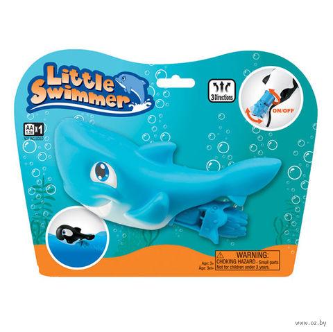"""Заводная игрушка для купания """"Маленькая плавающая акула"""""""