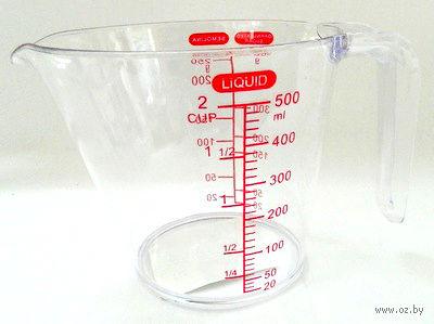 Стакан мерный пластмассовый (500 мл)