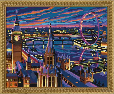 "Картина по номерам ""Ночной Лондон"" (400х500 мм) — фото, картинка"