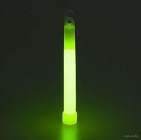 Палочка светящаяся ХИС (15 см; зелёная) — фото, картинка