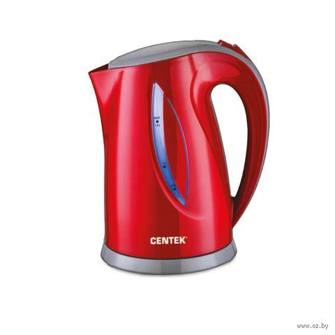 Электрочайник Centek CT-0053 (красный) — фото, картинка