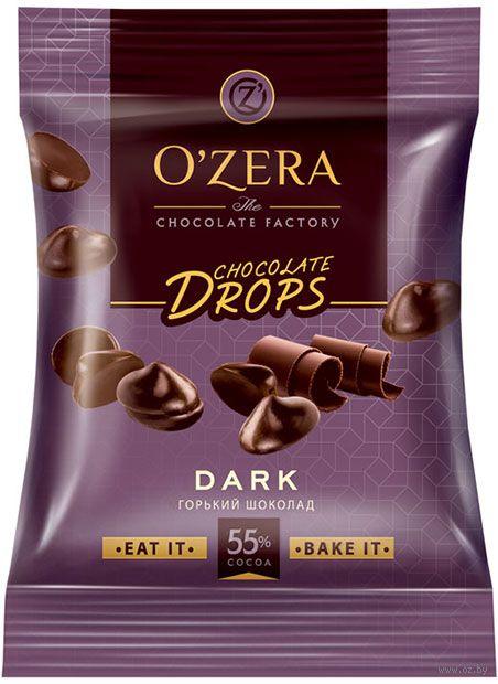 """Дропсы шоколадные """"O'Zera. Dark drops"""" (70 г) — фото, картинка"""