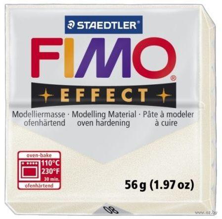 """Глина полимерная """"FIMO. Effect Metallic"""" (перламутр; 56 г)"""
