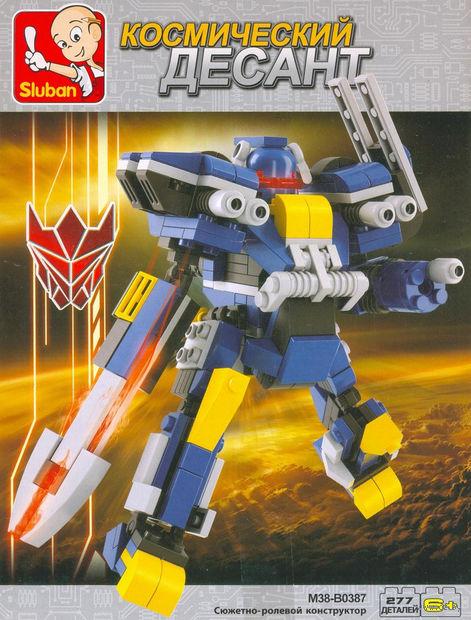 """Конструктор """"Робот трансформер. Синий рыцарь"""" (277 деталей) — фото, картинка"""