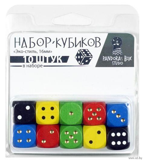 """Набор кубиков """"Эко-стиль"""" (10 шт.; в ассортименте) — фото, картинка"""