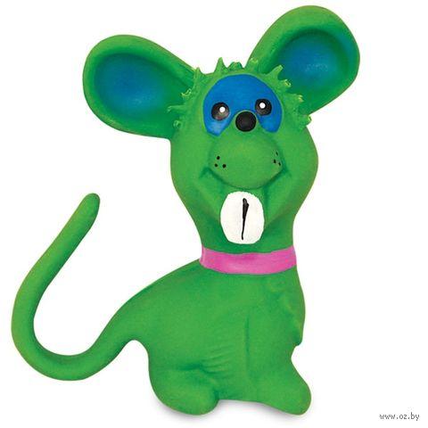 """Игрушка для собак с пищалкой """"Мышка"""" (10,5 см) — фото, картинка"""