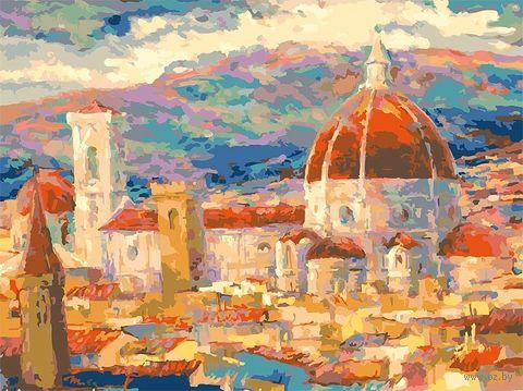 "Картина по номерам ""Дождь над Флоренцией"" (300х400 мм) — фото, картинка"