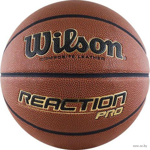 """Мяч баскетбольный Wilson """"Reaction Pro"""" №6 — фото, картинка"""