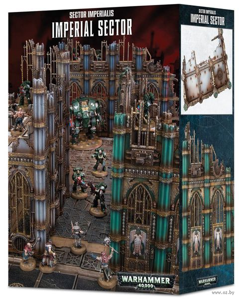 Warhammer 40.000. Sector Imperialis. Imperial Sector (64-80) — фото, картинка