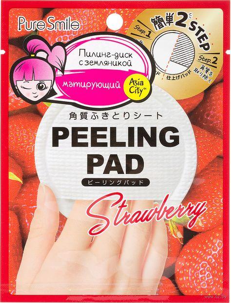 """Пилинг-диск для лица """"Peeling Pad. С земляникой"""" (1 шт.) — фото, картинка"""