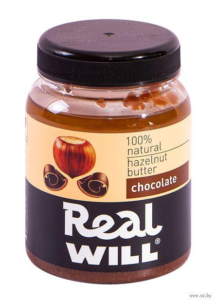 "Паста из фундука ""Real Will. С шоколадом"" (330 г) — фото, картинка"