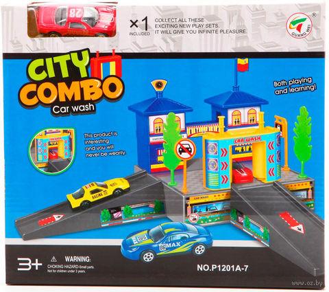 """Игровой набор """"Автомойка. City Combo"""""""