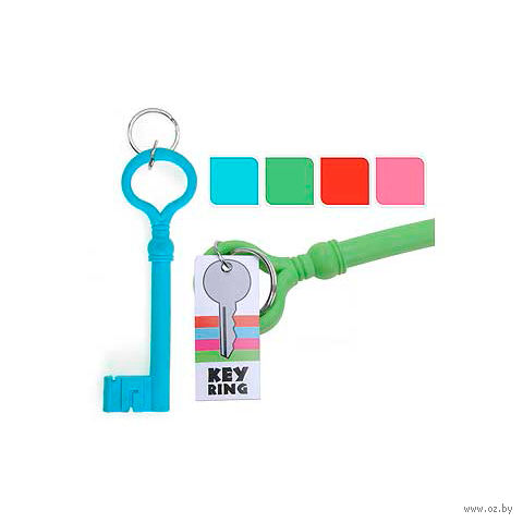 "Брелок силиконовый ""Ключ"" (160х50 мм)"