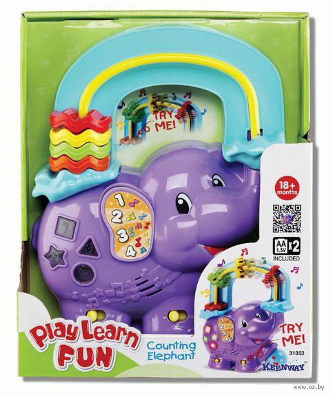 """Развивающая игрушка """"Веселый слоник"""""""