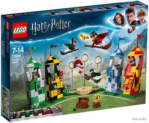"""LEGO Harry Potter """"Матч по квиддичу"""" — фото, картинка"""
