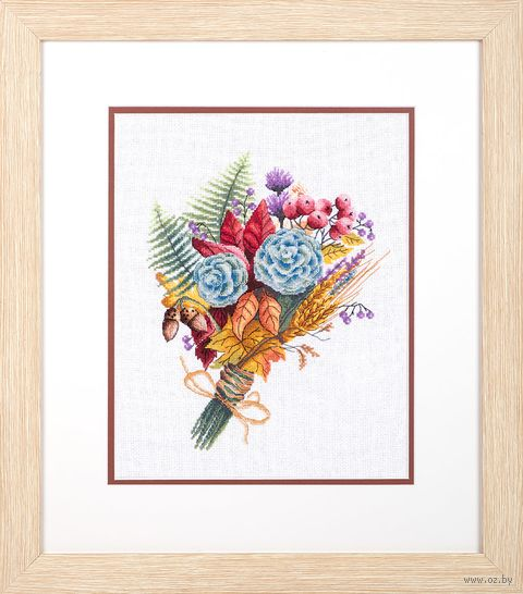 "Набор для вышивания ""Осенний букет"" (235х290 мм) — фото, картинка"