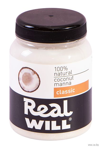 "Паста кокосовая ""Real Will"" (330 г) — фото, картинка"