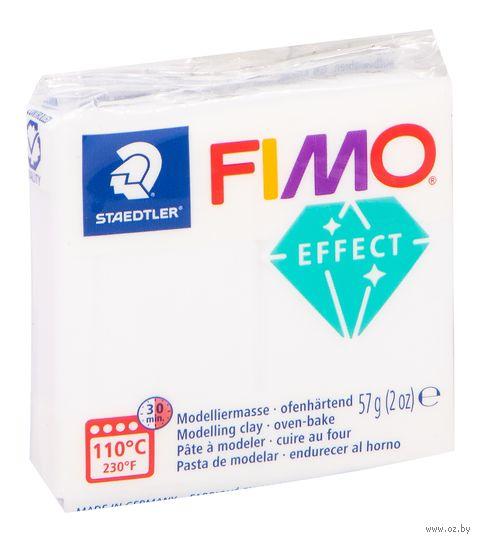 """Глина полимерная """"FIMO Effect"""" (прозрачный; 56 г)"""