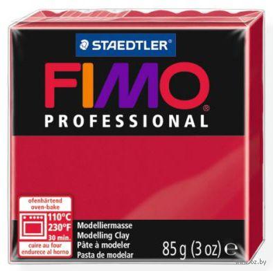 """Глина полимерная """"FIMO Professional"""" (пунцовый; 85 г)"""