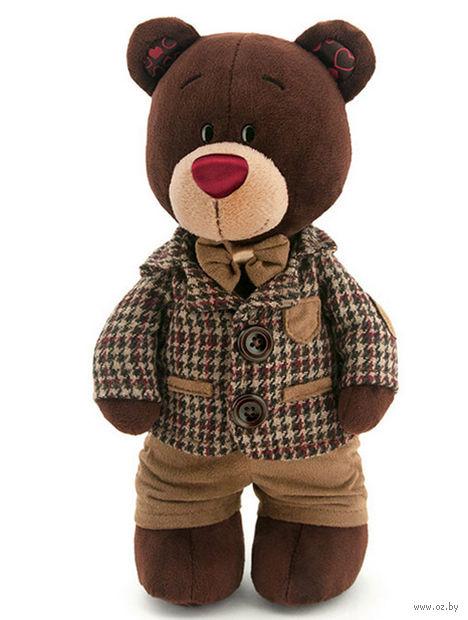 """Мягкая игрушка """"Медведь Choco в пиджаке"""" (25 см)"""
