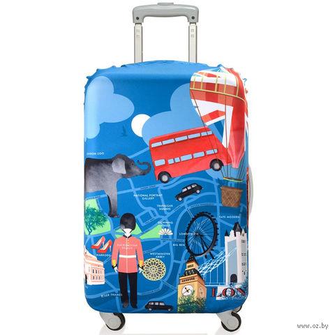 """Чехол для чемодана """"London"""" (большой)"""