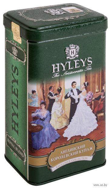 """Чай черный листовой """"Hyleys. Английский королевский купаж"""" (125 г) — фото, картинка"""
