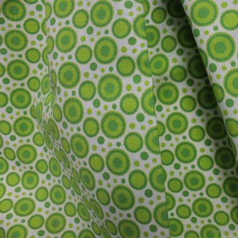 """Ткань """"Разноцветные круги"""" №11 (48х50 см) — фото, картинка"""