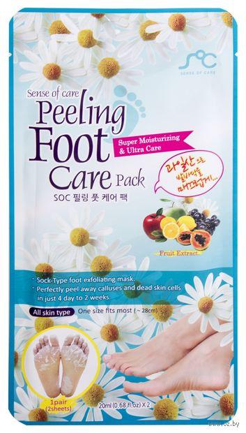 "Маска для ног ""Peeling Foot Care Pack"" (20 мл) — фото, картинка"
