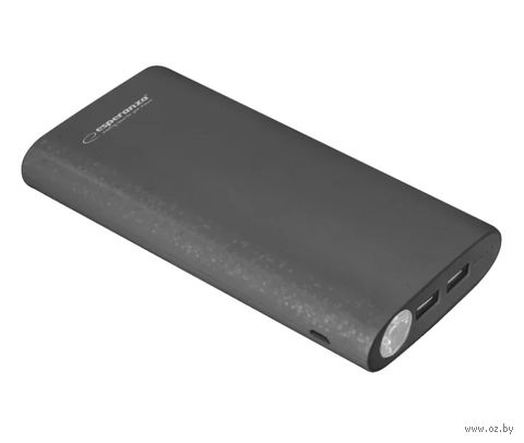 Внешний аккумулятор ESPERANZA NITRO 17400 mAh (черный) — фото, картинка
