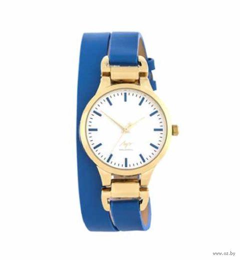 Часы наручные (синие; арт. 729107344) — фото, картинка