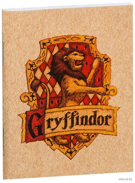 """Блокнот крафт """"Гарри Поттер. Гриффиндор"""" (А7; арт. 870) — фото, картинка"""