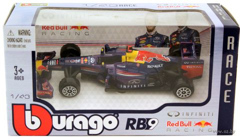 "Модель машины ""Bburago. Формула-1 Red Bull D-C RB9"" (масштаб: 1/43)"