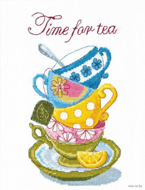 """Вышивка крестом """"Время для чая"""""""