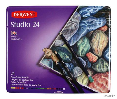 """Набор карандашей цветных """"Studio"""" (24 цвета)"""