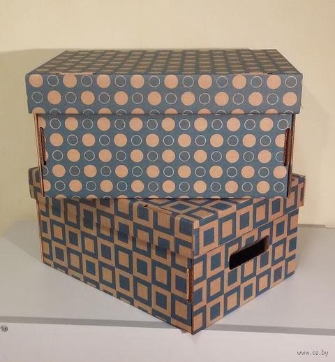 Набор коробок (2 шт.; голубой) — фото, картинка