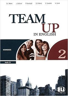 Team Up in English: Workbook 2 (+ CD) — фото, картинка