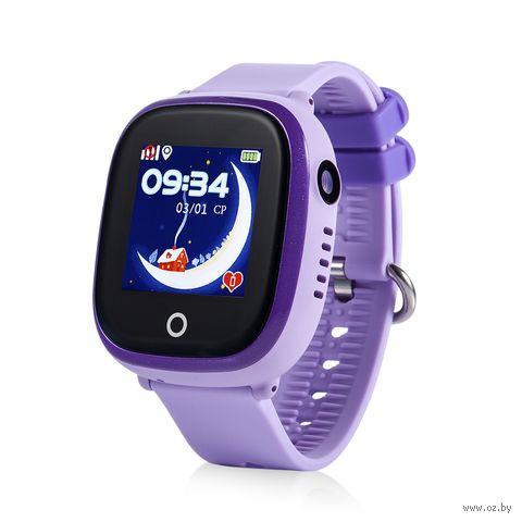 Умные часы Wonlex GW400X (фиолетовые) — фото, картинка